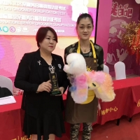 """CKU爱萌犬造型俱乐部犬模型修剪大赛!""""侯莉和宋磊""""同学并列""""亚军"""" ..."""