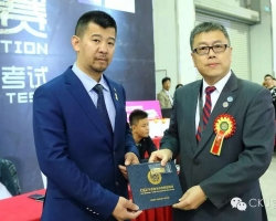 杨威老师获得CKU首批中国bwin官网审查员!