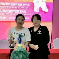 """CKU爱萌犬造型俱乐部犬模型修剪大赛!我校""""雅鑫""""同学获得""""冠军"""""""