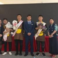 杨威老师担任2017CKU深圳bwin官网资格认证考试,CKU萌宠大赛审查员!