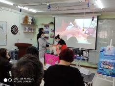 哈尔滨爱尚宠物美容学校关雪老师萌系染色造型公开课进行中……