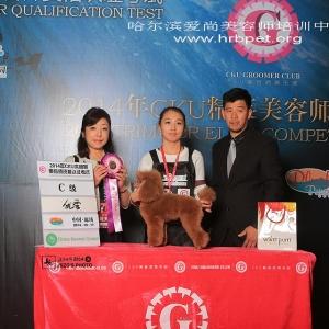 薇薇同学获得CKU2014年廊坊bwin官网大赛C级优秀奖!恭喜!