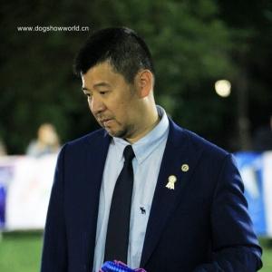 杨威老师,担任2018年CKU潍坊全犬种审查工作!
