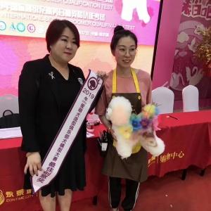 """CKU爱萌犬造型俱乐部犬模型修剪大赛!""""明月""""同学获得""""最佳创意奖"""" ..."""
